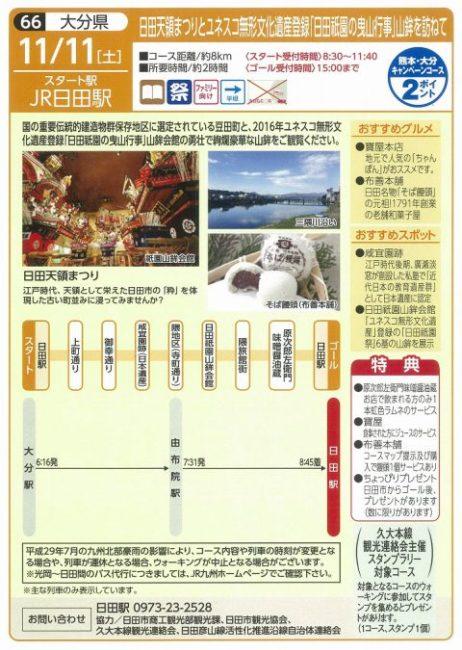 2017 駅長おすすめのJR九州ウォーキング